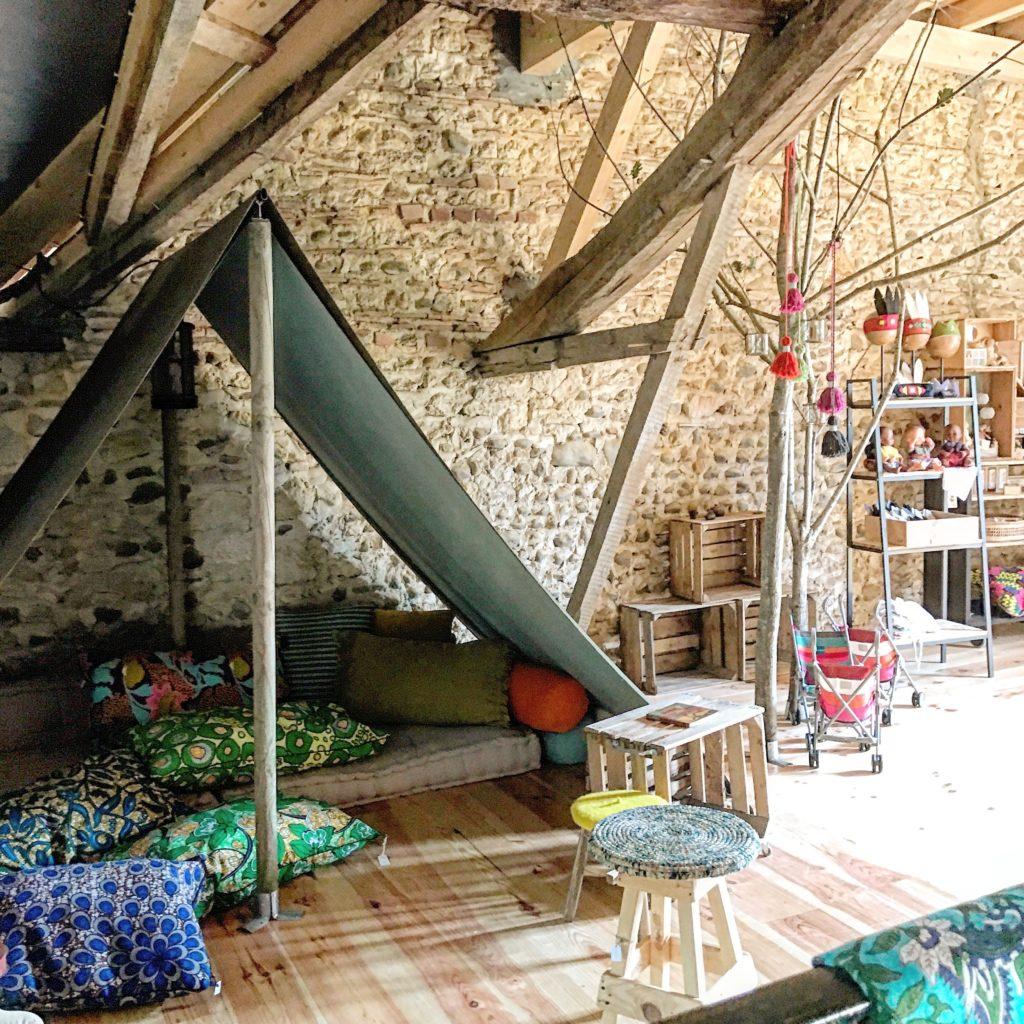 Tente intérieure chez Casa beroya